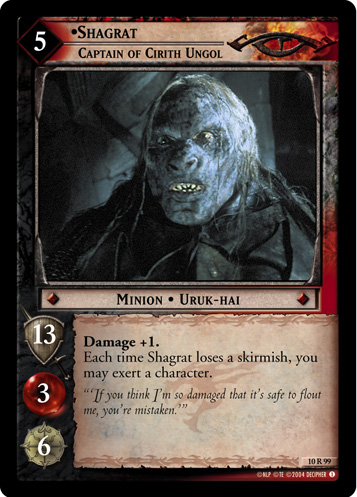 Shagrat, Captain of Cirith Ungol (10R99) Card Image