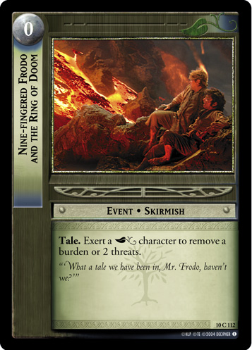 Nine-fingered Frodo and the Ring of Doom (10C112) Card Image