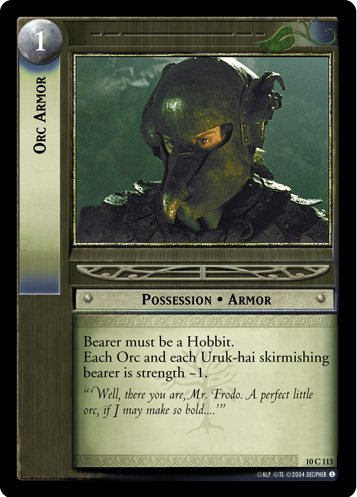Orc Armor (10C113) Card Image