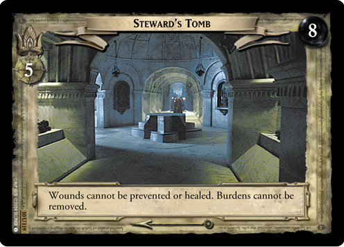 Steward's Tomb (10U119) Card Image