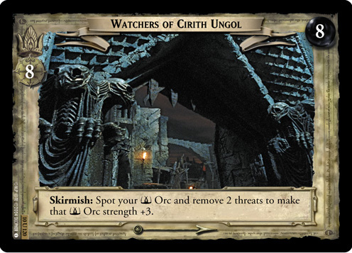 Watchers of Cirith Ungol (10U120) Card Image