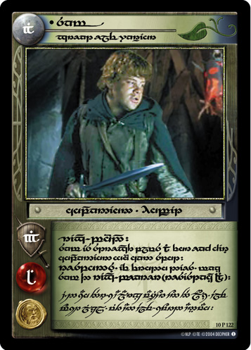 Sam, Great Elf Warrior (T) (10P122T) Card Image