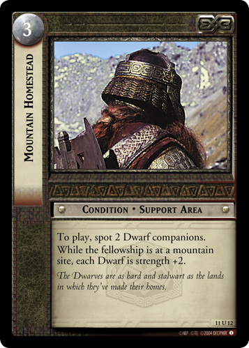 Mountain Homestead (11U12) Card Image