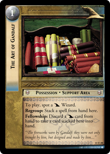 The Art of Gandalf (11U28) Card Image