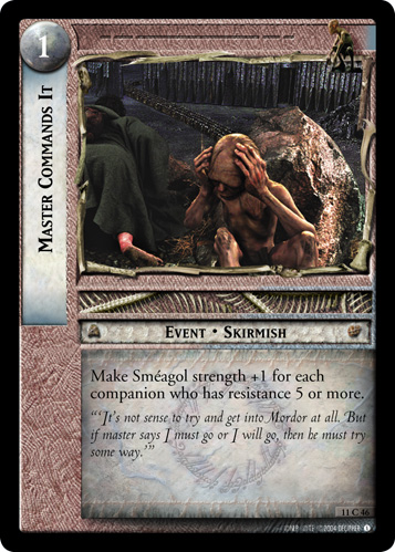 Master Commands It (11C46) Card Image