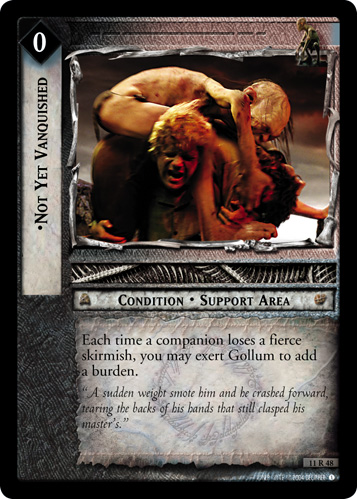 Not Yet Vanquished (11R48) Card Image