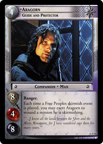 Aragorn, Guide and Protector (11S53) Card Image