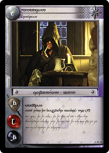 Aragorn, Strider (T) (11R54T) Card Image