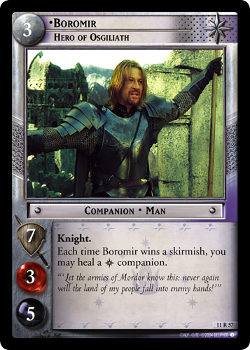 Boromir, Hero of Osgiliath (11R57) Card Image