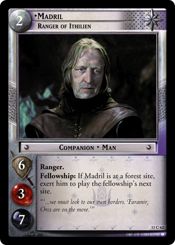 Madril, Ranger of Ithilien (11C62) Card Image