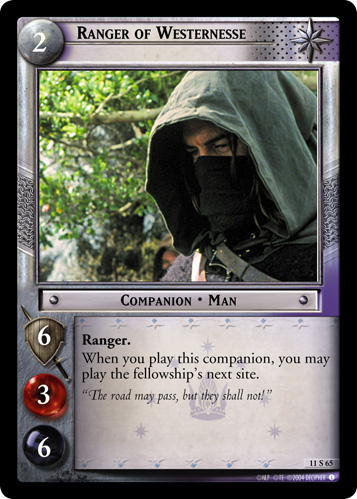 Ranger of Westernesse (11S65) Card Image
