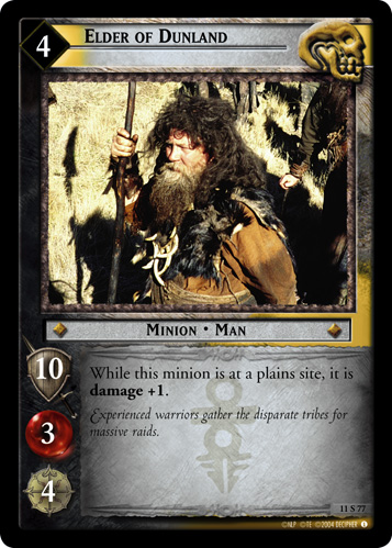 Elder of Dunland (11S77) Card Image