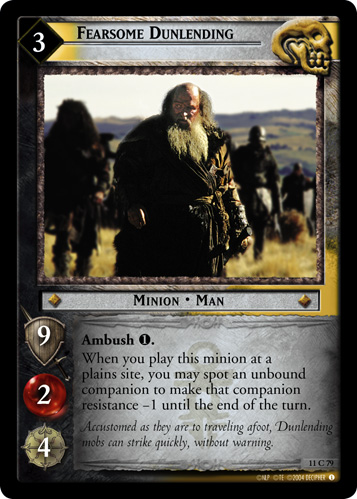 Fearsome Dunlending (11C79) Card Image