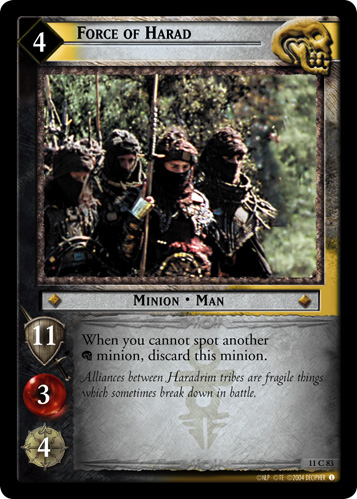 Force of Harad (11C83) Card Image