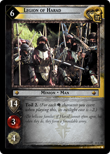 Legion of Harad (11C88) Card Image