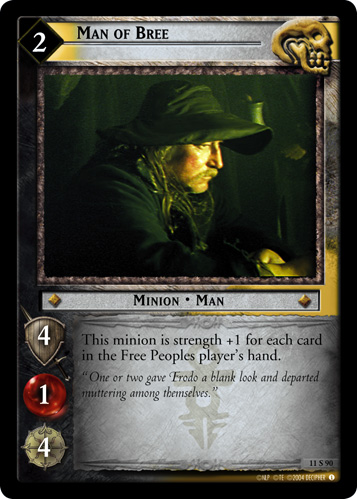 Man of Bree (11S90) Card Image