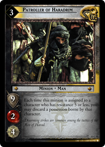 Patroller of Haradrim (11C93) Card Image