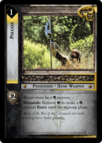 Poleaxe (11S95) Card Image