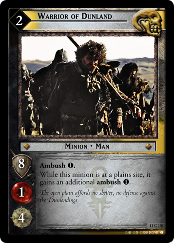 Warrior of Dunland (11C103) Card Image