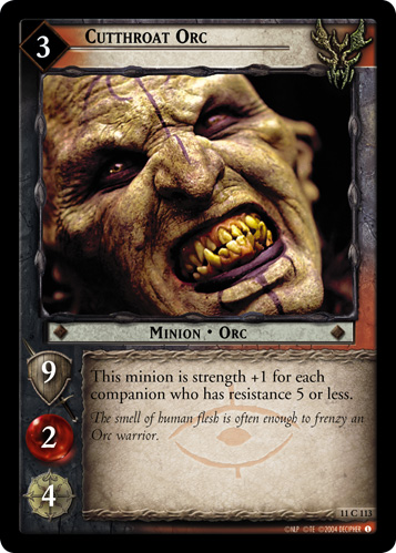 Cutthroat Orc (11C113) Card Image
