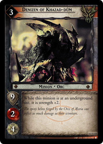 Denizen of Khazad-dum (11S115) Card Image