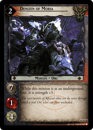 Denizen of Moria (11S116) Card Image