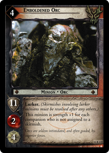 Emboldened Orc (11R119) Card Image