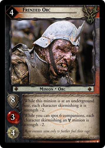 Frenzied Orc (11C122) Card Image
