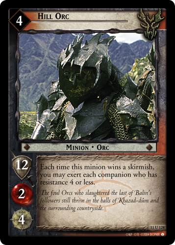 Hill Orc (11U124) Card Image