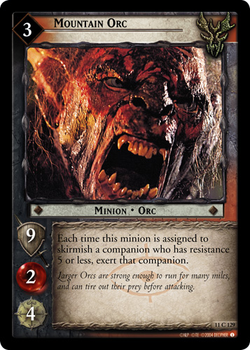 Mountain Orc (11C129) Card Image