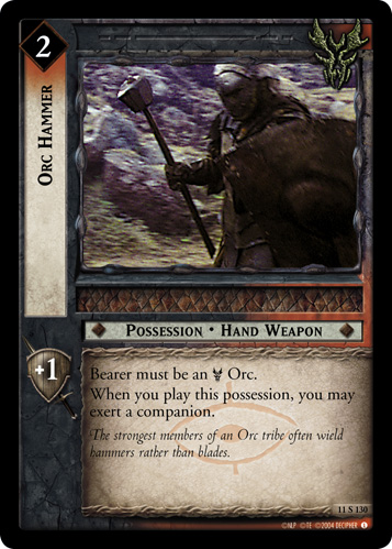 Orc Hammer (11S130) Card Image
