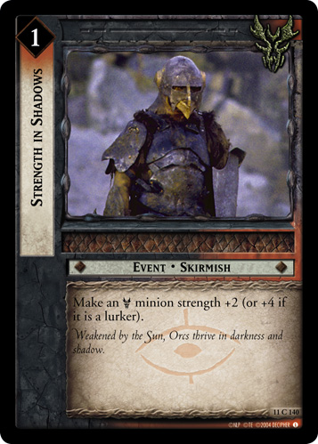 Strength in Shadows (11C140) Card Image