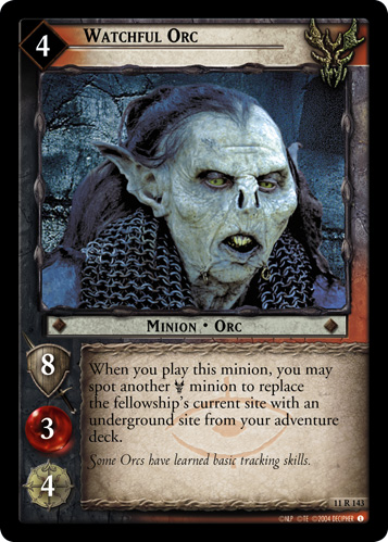 Watchful Orc (11R143) Card Image