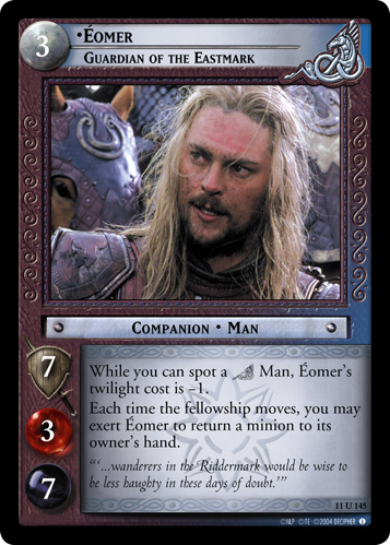 Eomer, Guardian of the Eastmark (11U145) Card Image