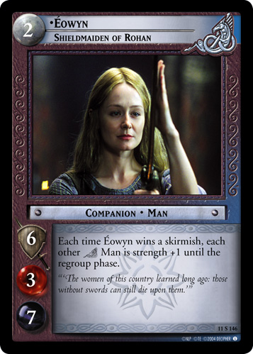 Eowyn, Shieldmaiden of Rohan (11S146) Card Image