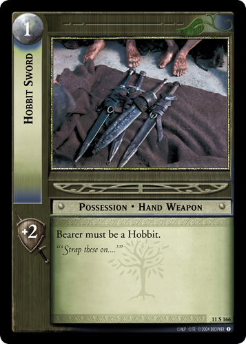 Hobbit Sword (11S166) Card Image