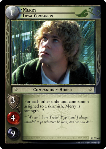 Merry, Loyal Companion (11C168) Card Image
