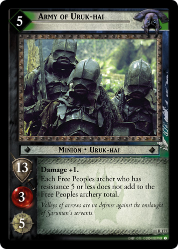 Army of Uruk-hai (11R177) Card Image
