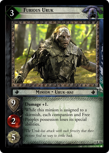 Furious Uruk (11R186) Card Image