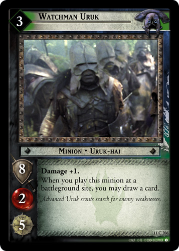 Watchman Uruk (11C206) Card Image