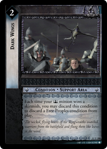 Dark Wings (11U208) Card Image