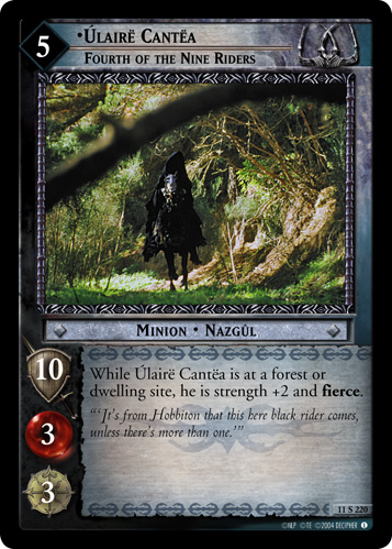 Ulaire Cantea, Fourth of the Nine Riders (11S220) Card Image