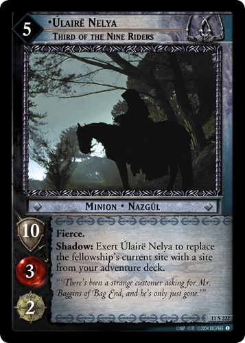 Ulaire Nelya, Third of the Nine Riders (11S222) Card Image