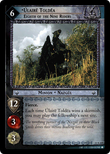 Ulaire Toldea, Eighth of the Nine Riders (11S225) Card Image