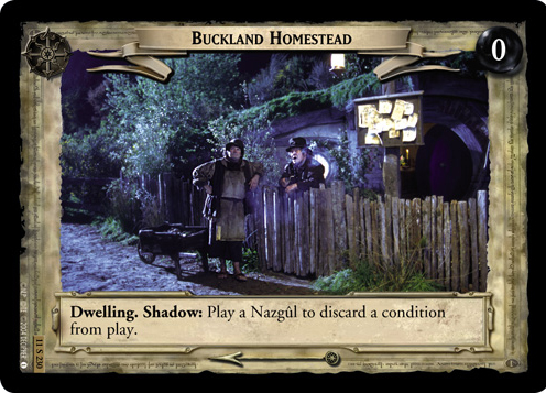 Buckland Homestead (11S230) Card Image