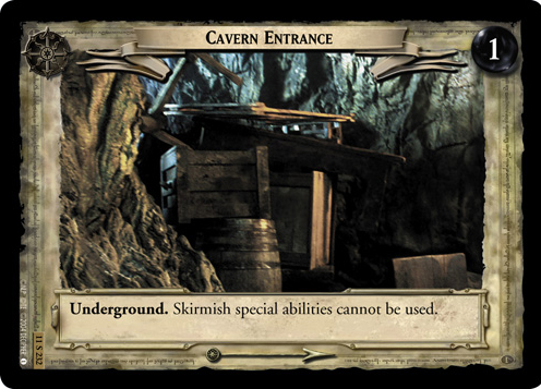 Cavern Entrance (11S232) Card Image