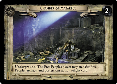 Chamber of Mazarbul (11S233) Card Image