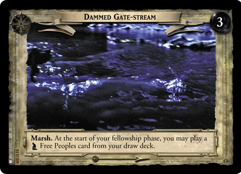 Dammed Gate-stream (11U235) Card Image