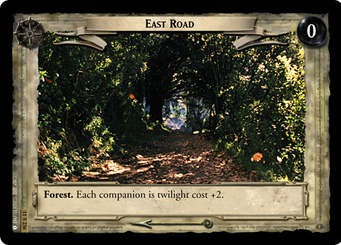 East Road (11S236) Card Image