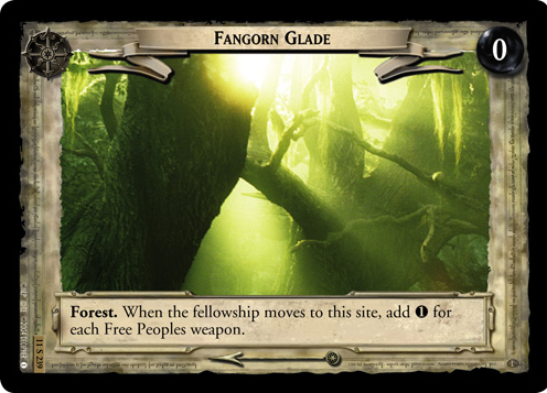 Fangorn Glade (11S239) Card Image